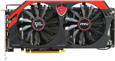 MSI AMD/ATI R9 270X GAMING 2G 2 GB GDDR5 Graphics Card