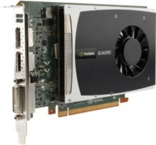 HP NVIDIA Nvidia Quadro 2000 1 GB DDR5 Graphics Card