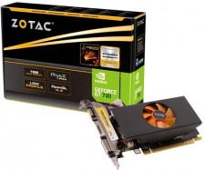 ZOTAC NVIDIA GT 730 1 GB DDR5 Graphics Card