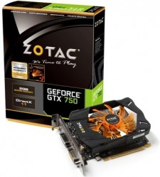 ZOTAC NVIDIA GTX 750 2GB 2 GB DDR5 Graphics Card