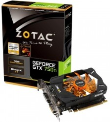 ZOTAC NVIDIA GTX 750Ti 1GB 1 GB DDR5 Graphics Card