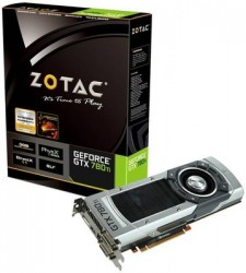ZOTAC NVIDIA GTX 780TI 3 GB DDR5 Graphics Card