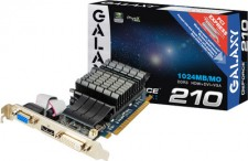 Galaxy NVIDIA GeForce GT 210 1 GB DDR3 Graphics Card