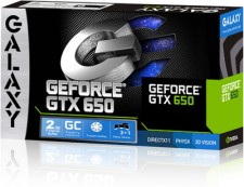 Galaxy NVIDIA GeForce GT 650GC 2GB 2 GB DDR5 Graphics Card