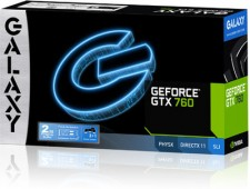 Galaxy NVIDIA GeForce GTX 760 2 GB DDR5 Graphics Card